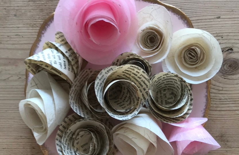 Paper Roses How To Make Paper Flowers At Home