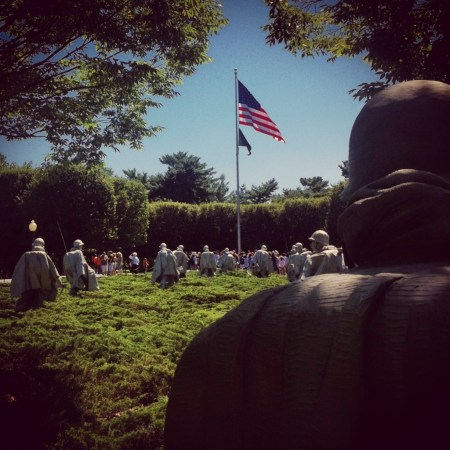 korean, war, vets, vetrans, memorial, washington, d.c., monument