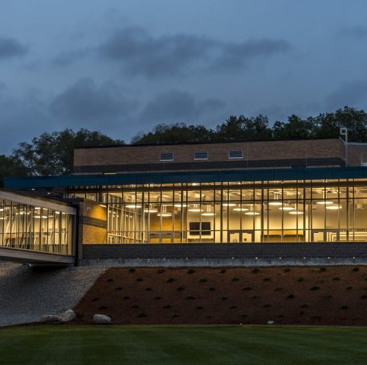 Nehemiah Center Gymnasium Entrance