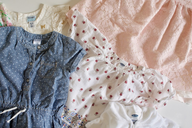 This post explains how I not only save hundreds on name brand and perfectly trendy clothes for my whole family each year but also earn money!