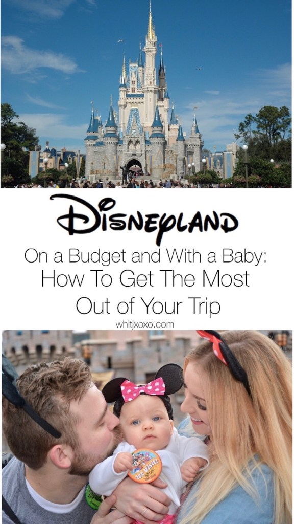 This post shows you how to minimize line wait time, how to make waiting in a line more enjoyable and how to easily do Disneyland with a baby! | whitjxoxo.com