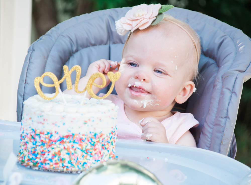 Happy First Birthday, Evelyn Jane!