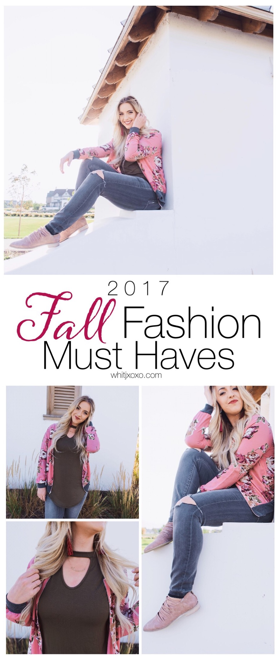 If you only have it in your budget for 4 items this year then from what I've seen of Fall fashion so far, I think these 4 items should be it! | whitjxoxo.com