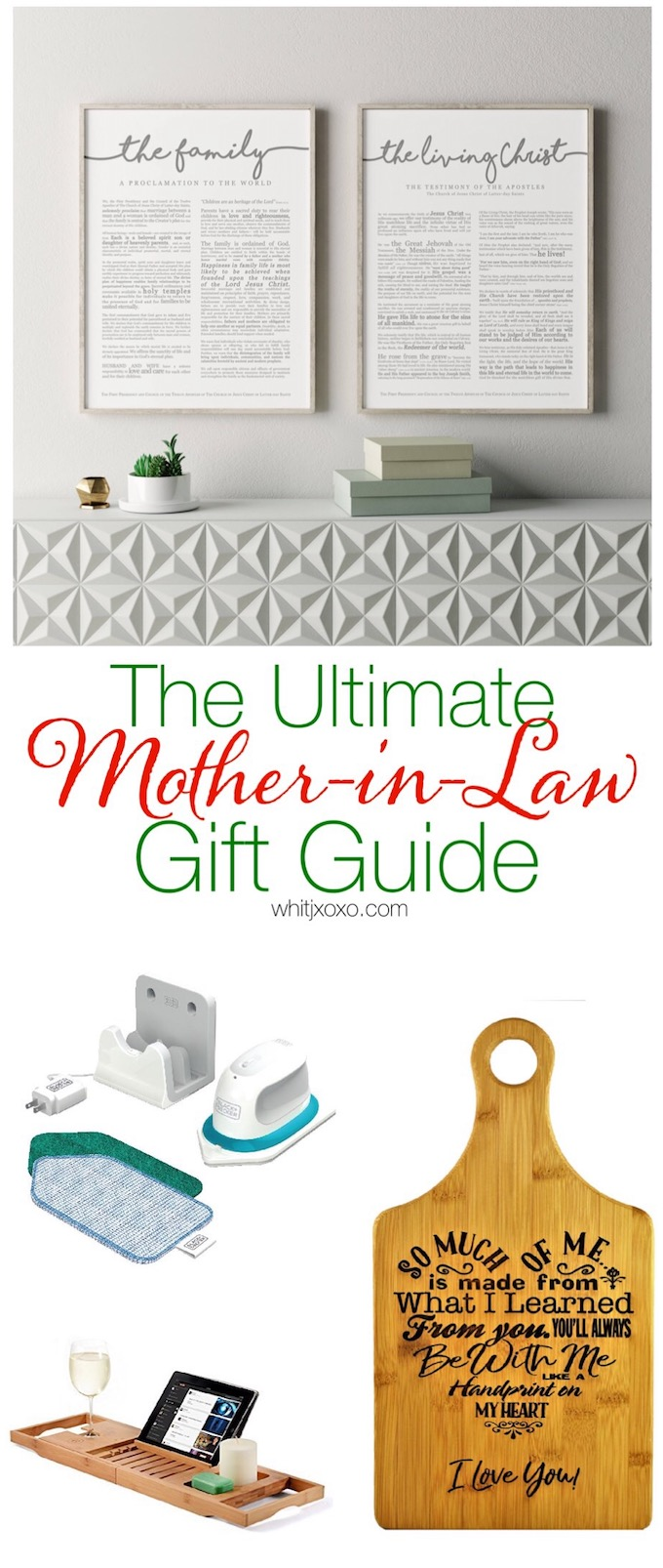 The Ultimate Mother-in-Law Gift Guide - Beauty, Baby, and a Budget