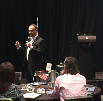Deutsch outlines how to grow organic reach at Alliott Conference