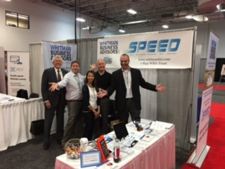 David W, David D, Kim, and Jeff at the Accounting Business & Technology Expo, May 2016