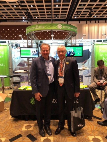 Walter Brasch, Managing Director with our good friend Allan Koltin