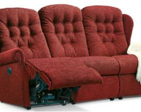 click to view sherborne lynton 3 seat powered reclining settee