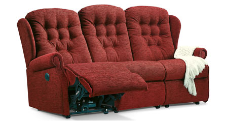 click to view the sherborne lynton 3 seat manual reclining settee