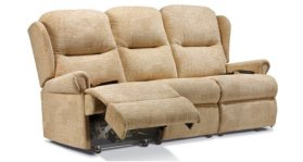 click to view sherborne 3 seat manual reclining settee
