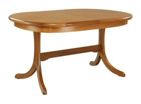 Trafalgar Goodwood Oval Dining Table