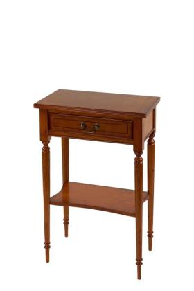 Reproduction 1 Drawer Hall Table with Shelf