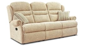 click to view sherborne ashford 3 seat manual reclining settee