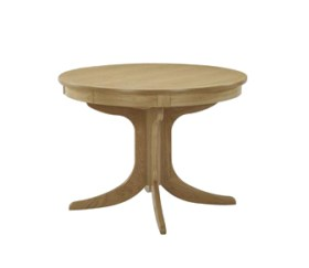 Shades Oak Circular Pedestal Dining Table