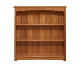 Editions Teak Mid Double Bookcase