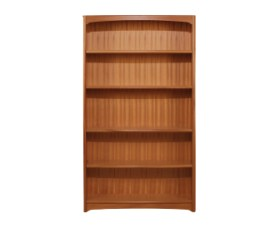 Editions Teak Tall Double Bookcase - No Top