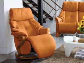 click to view himolla chester swivel recliner