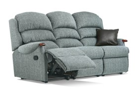 click to view sherborne malham 3 seat manual reclining settee