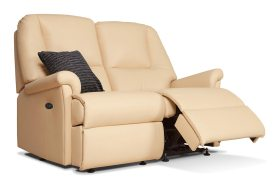 click to view the sherborne milburn 2 seat powered reclining settee