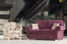 click to view lancaster 2 seater sofa/sofabed