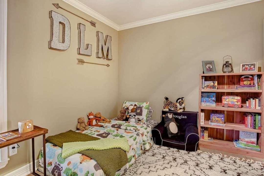 Woodland Toddler Bedroom