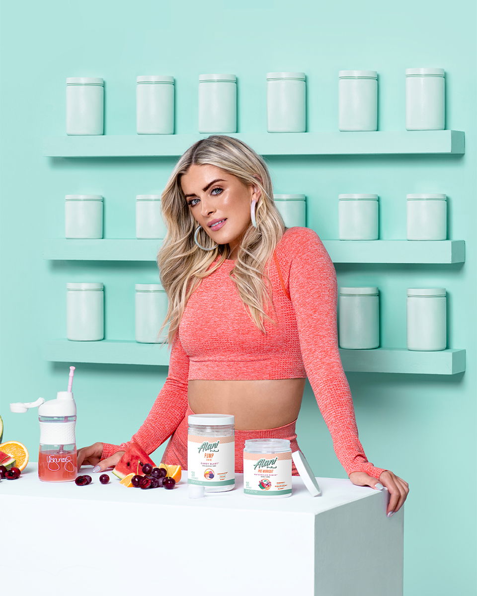 Alani Nutrition Whitney Simmons GNC Product Photography by Whitney Finuf