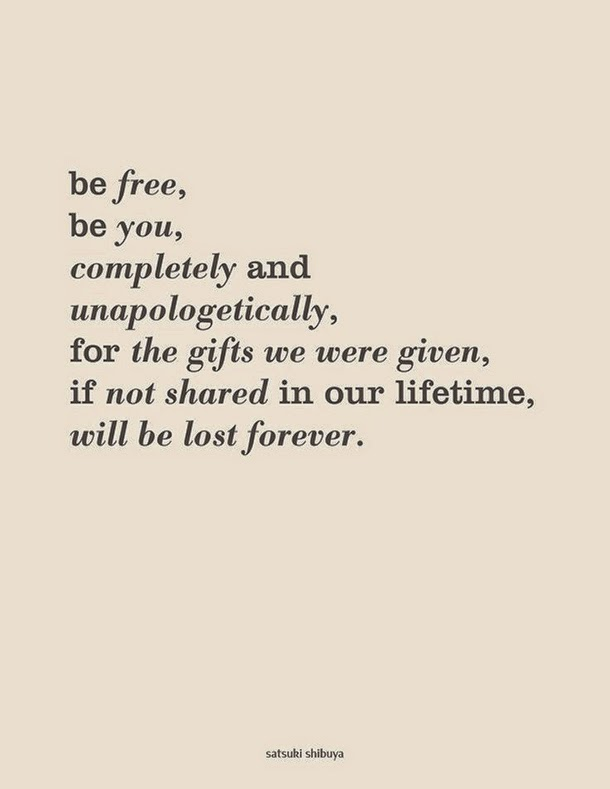 quote it wednesday be unapologetically you