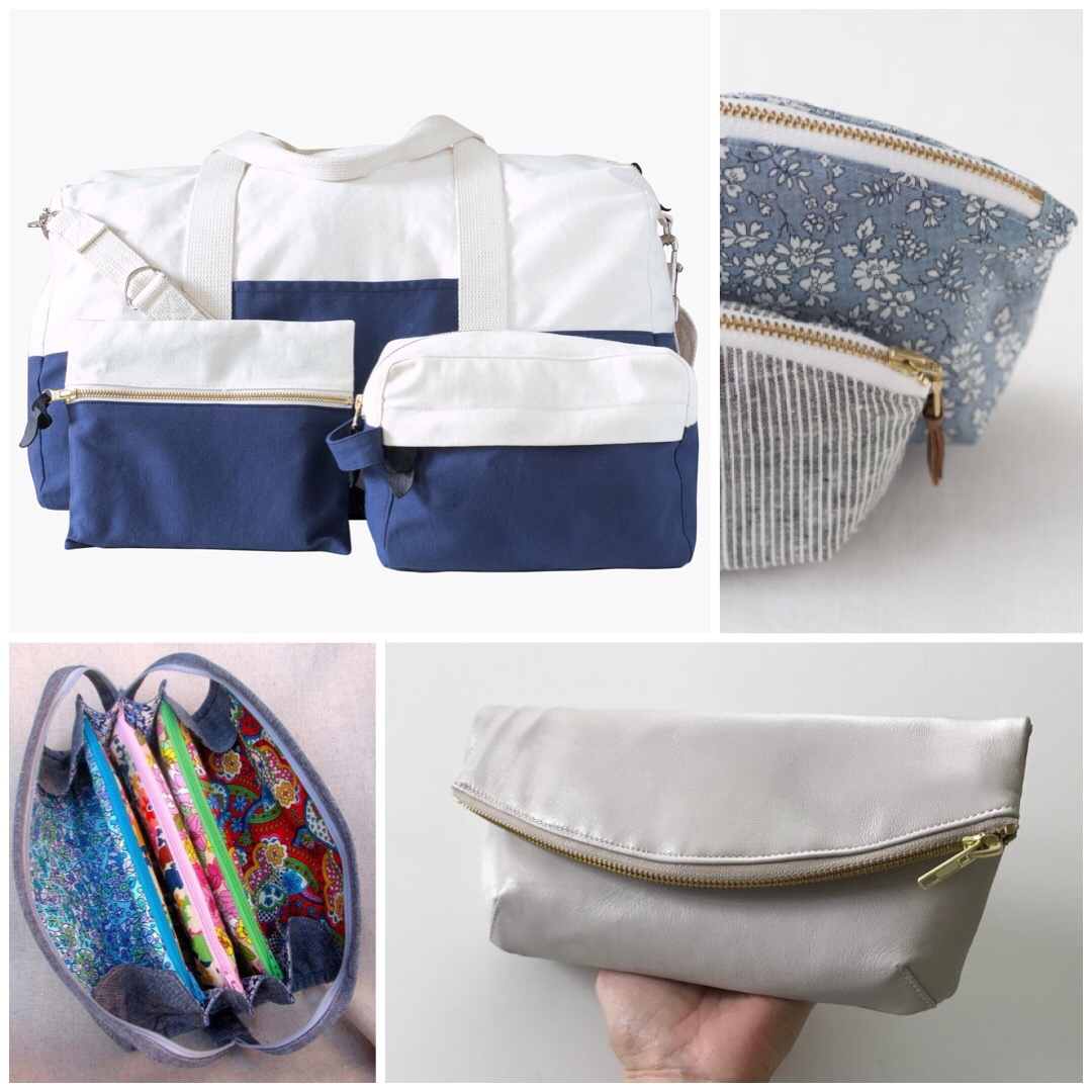 b784ded18195 Portside Travel Set by Grainline Studio. You can t write a post about travel  patterns without including Grainline s Portside Travel Set.