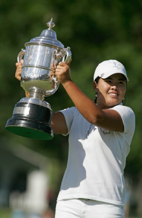 Inbee Park, 19, became the youngest winner of the U.S. Women's Open. She won by four strokes.