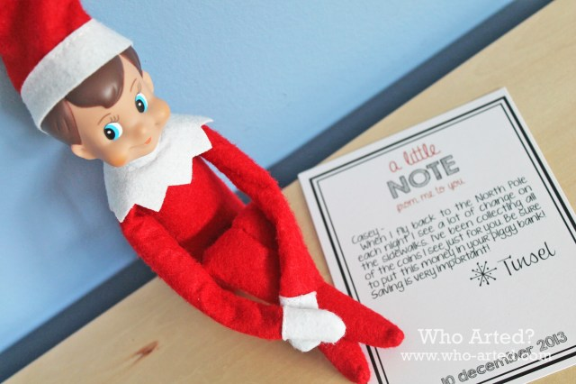 Elf on the Shelf Note Cards 02