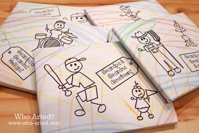 Grandparents Day Wrapping Paper 02