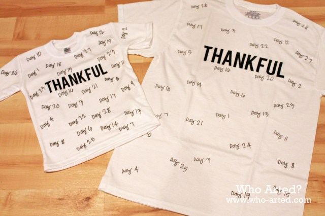 Thankful TShirt 04