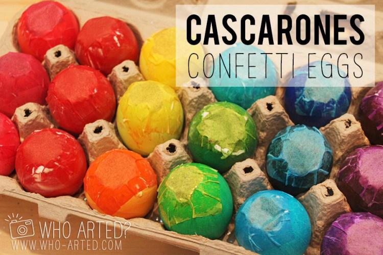 Cascarones Glitter Eggs Who Arted 00