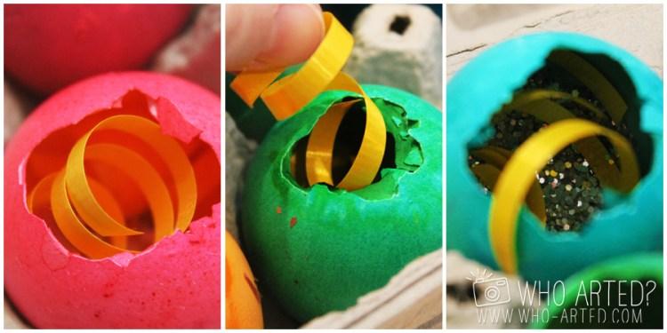 Cascarones Glitter Eggs Who Arted 02