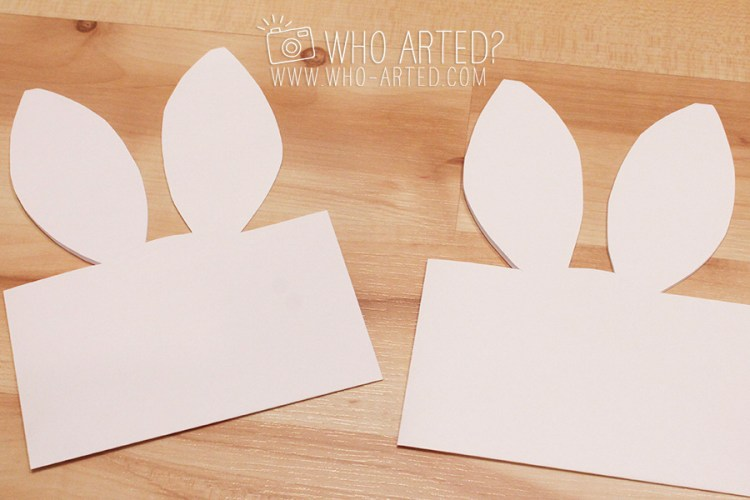 Easter Envelope Bunny Envelope Who Arted 03