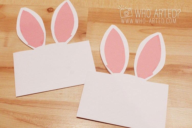 Easter Envelope Bunny Envelope Who Arted 04