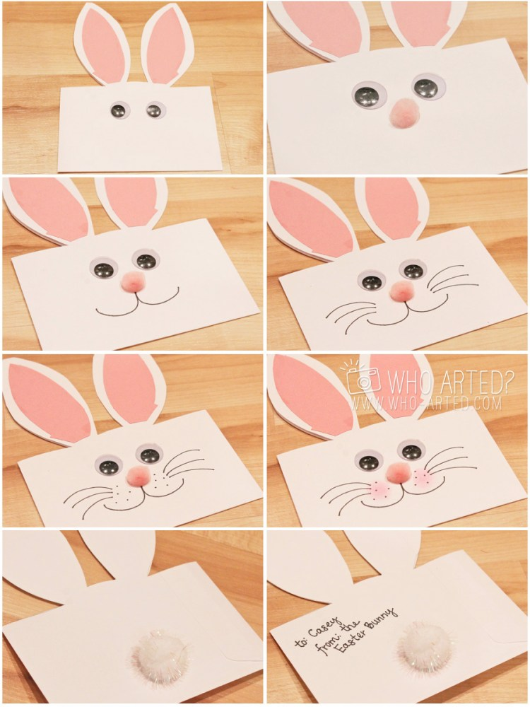 Easter Envelope Bunny Envelope Who Arted 05