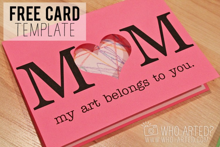 Mothers Day Card Who Arted 00