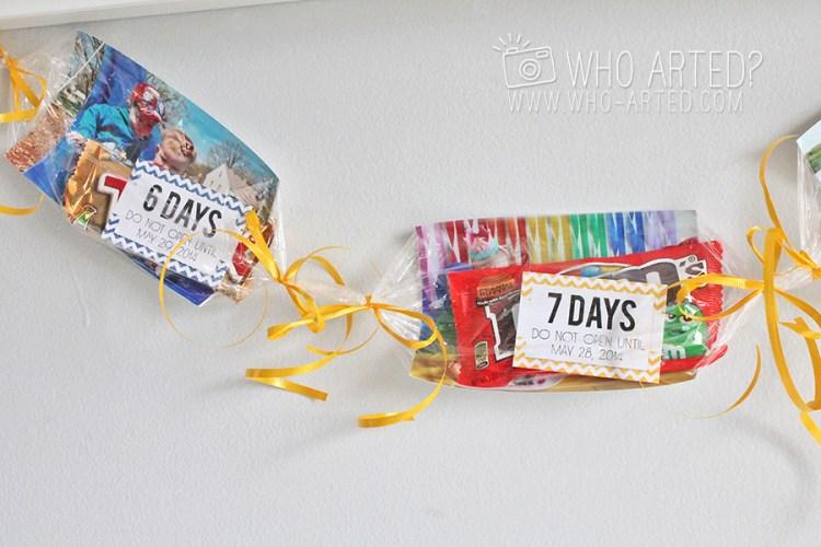 Birthday Garland Countdown Who Arted 11