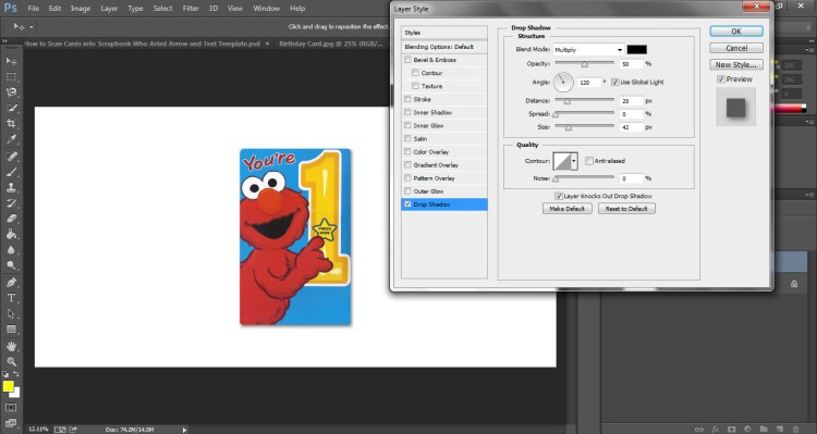 How to Scan Cards into Scrapbook Who Arted 14