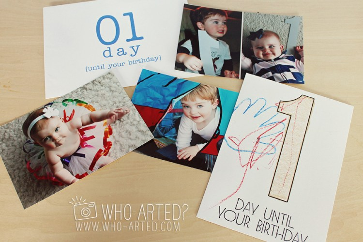 Birthday Countdown Envelope Who Arted 04