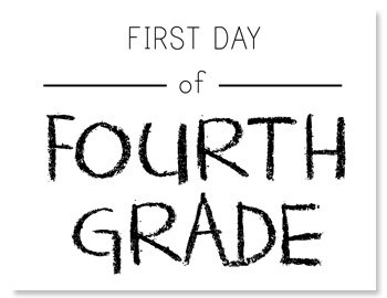 Printable First Day of School Signs (and Bonus Photo Ideas