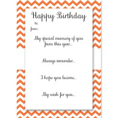 Birthday Memory Cards Orange Who Arted Thumbnail