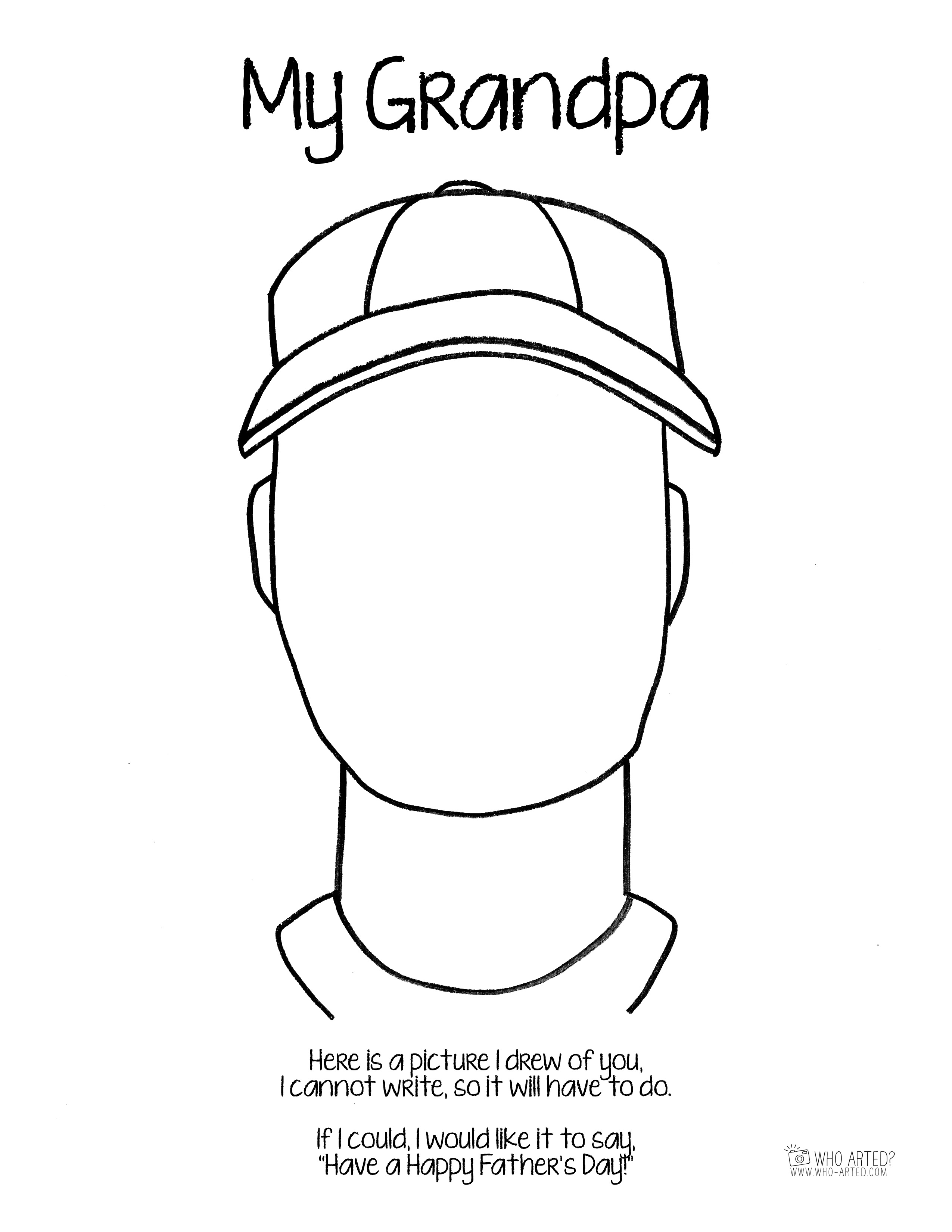 Father S Day Free Coloring Pages