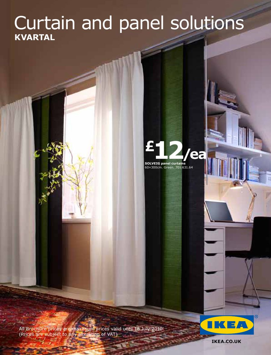 Kvartal Curtain Hanging System In And Panel Solutions 2010