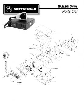motorola 16 pin connector in Maxtrac Series Parts List by