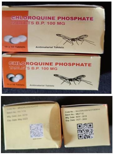 Chloroquine-phosphate-tabletsB.P100mgNiger2