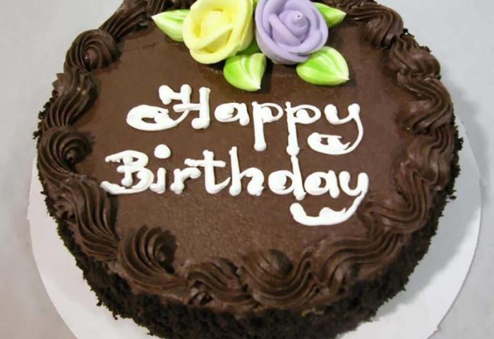 Happy Birthday Chocolate Cake Hd Wallpaper
