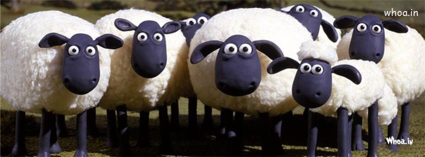 Shaun The Sheep Hd Fb Timeline Cover 3
