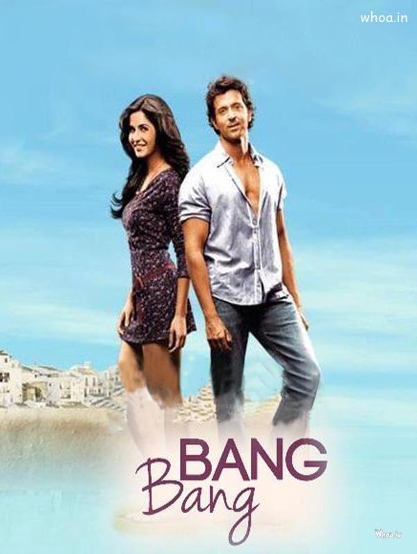 Bang Bang 2014 Bollywood Movie Hd Poster